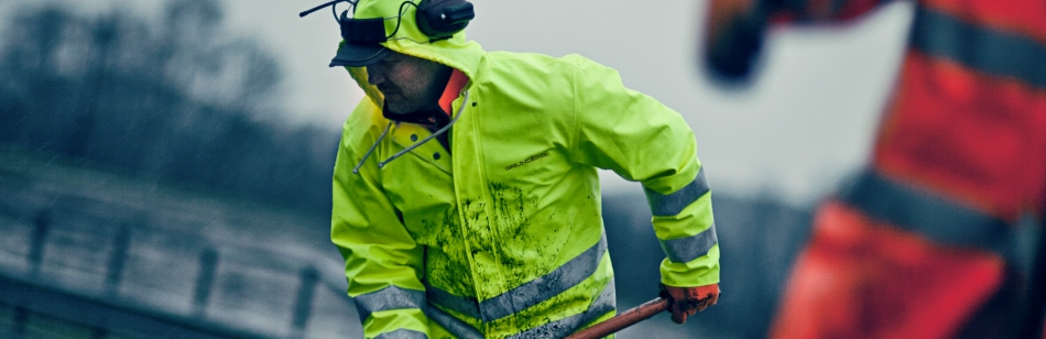 GRUNDÉNS waterproof workwear